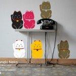 Los Maneki Neko o gatos de la fortuna de la cultura japonesa