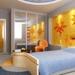 Un vinilo decorativo genial para iluminar el dormitorio infantil