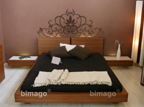 Vinilo decorativo cabecero de cama vinilos decorativos - Cabecero hierro forjado ...