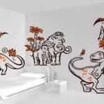 El cuarto de tu peque convertido en un Parque Jurásico