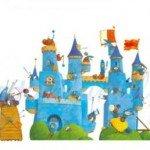 Un castillo del Medioevo para el cuarto de los peques