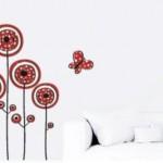 Flores Flamencas, un vinilo decorativo muy bonito