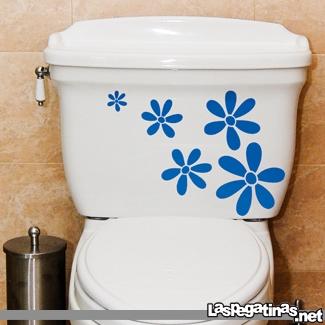 Vinilo decorativo para el wc del ba o vinilos decorativos - Papel de vinilo para banos ...