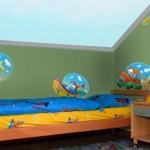 Vinilo Decorativo Medios de Transporte para niños