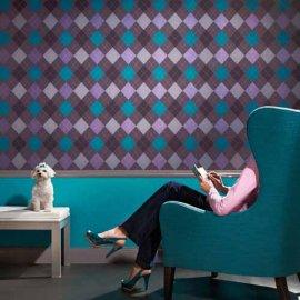 papel pintado floral hermoso para decorar finamente una pared una idea de muy buen gusto