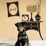 Geniales, los vinilos para el dormitorio del perro y del gato
