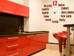 Vinilo decorativo reloj moderno vinilos decorativos - Vinilos para cocinas modernas ...