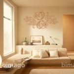 Clásico y bonito vinilo decorativo