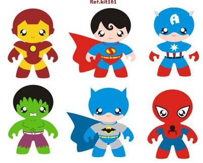 Vinilos decorativos superheroes