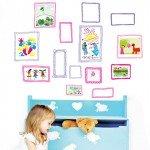 Portarretratos adhesivos para la habitación infantil