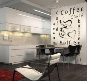 Vinilo decorativo coffee vinilos decorativos - Vinilos para cocinas modernas ...