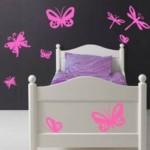 Mariposas y libélulas para ellas