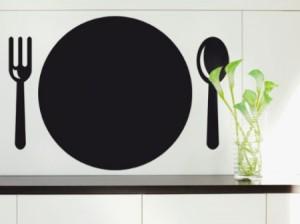 Pizarras adhesivas para la cocina vinilos decorativos - Vinilo pizarra cocina ...