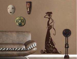 Vinilos decorativos africanos vinilos decorativos for Decoracion estilo africano