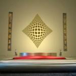 Ilusión Optica 3D en la pared