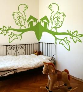 Vinilo Decorativo de pared para niños