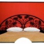 Un cabecero de cama hermoso y original