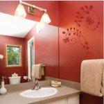Un vinilo decorativo para el baño que suaviza el ambiente