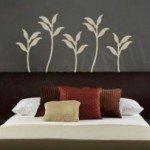 Las violetas en el dormitorio
