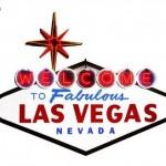 Cartel típico de Las Vegas autoadhesivo para la pared