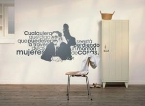 Vinilo Decorativo Groucho Marx