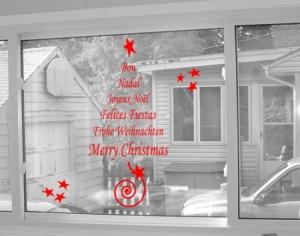 Vinilo Decorativo de Navidad para la casa