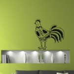 Un gallo muy bonito para decorar la pared