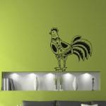 Un gallo muy bonito para decorar la pared