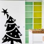 Vinilo Decorativo Arbol de Navidad muy original