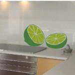 Dos medios limones para la cocina, nada mejor
