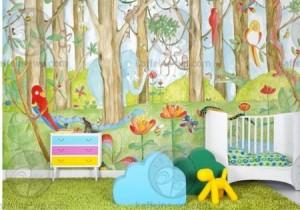 Murales infantiles para la pared vinilos decorativos for Murales y vinilos infantiles