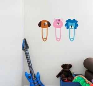Vinilo decorativo perchero infantil vinilos decorativos - Percheros pared infantiles ...