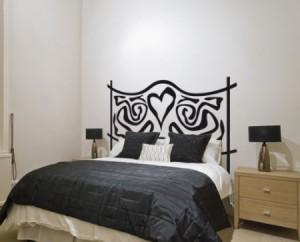 Vinilo decorativo cabecero de cama forja de fantasia - Vinilos para cabeceros ...