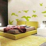 Decora tus paredes con una bandada de pájaros