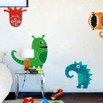 Monstruos para decorar la habitación del mas pequeño de la casa