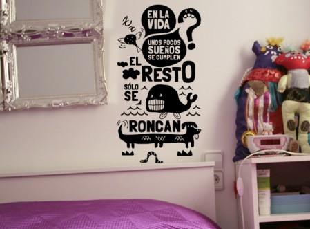 Concurso tweeter de vinilos decorativos vinilos decorativos for Vinilos frases habitacion
