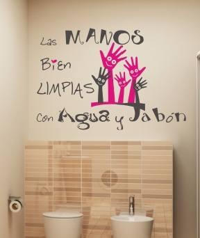 vinilo cuarto de baño