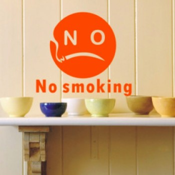 pegatina no smoking