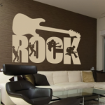 decoración rockera