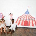 El circo en el cuarto de los peques