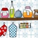 vinilo decorativo cocina divertido
