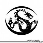 Vinilo de Dragón