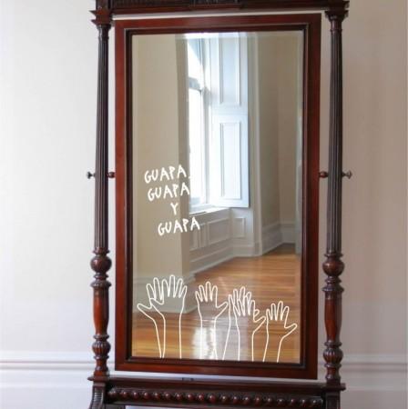 vinilo decorativo espejos