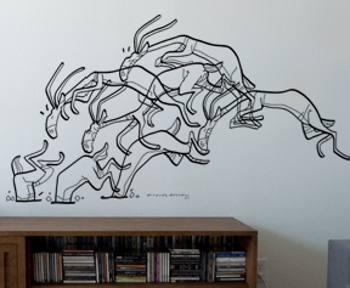 Vinilo de autor arte en movimiento vinilos decorativos - Vinilos con arte ...