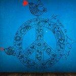 Diseño hippie para el cuarto