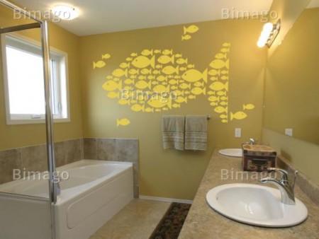 Vinilo decorativo para el cuarto de ba o vinilos decorativos - Vinilos cuarto de bano ...