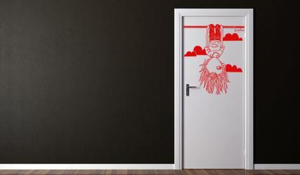 Vinilo original para puertas vinilos decorativos - Vinilos para puertas de armarios de cocina ...