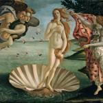 fotomural botticelli