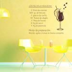 vinilo decorativo receta
