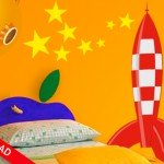 Un cohete para la habitación de tu hijo
